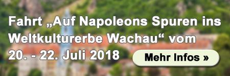 Fahrt in die Wachau im Juli - Mehr Infos